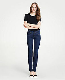 Performance Stretch Boot Cut Jeans in Classic Mid
