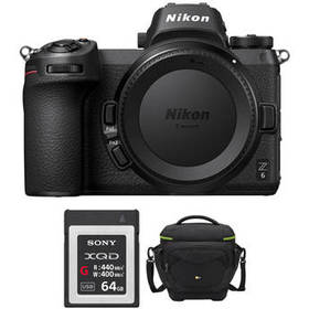 Nikon Z 6 Mirrorless Digital Camera Body with Acce