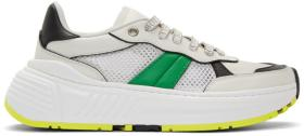 Bottega Veneta White Speedster Sneakers