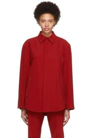 Balenciaga Red Tailored Shirt