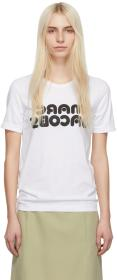 Marc Jacobs White Redux Grunge Backwards T-Shirt