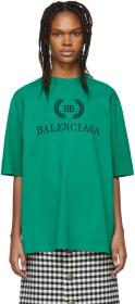 Balenciaga Green BB T-Shirt
