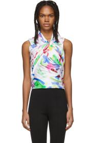 Balenciaga Multicolor Stretch Tank Top