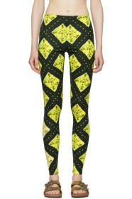 Marc Jacobs Green Redux Grunge Leggings