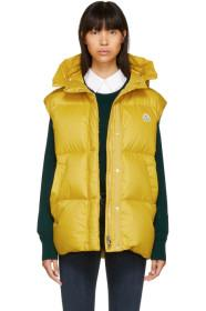 Moncler Yellow Cheveche Down Vest