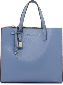 Marc Jacobs Blue Mini Grind Bag