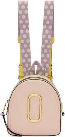 Marc Jacobs Pink & Blue Pack Shot Backpack