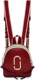 Marc Jacobs Red Mini Pack Shot Backpack