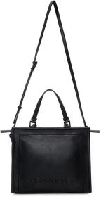 Marc Jacobs Black 'The Box' Shopper Bag