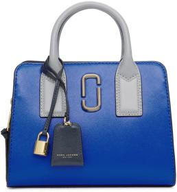 Marc Jacobs Blue Little Big Shot Bag