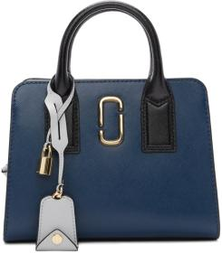 Marc Jacobs Blue & Black Little Big Shot Bag
