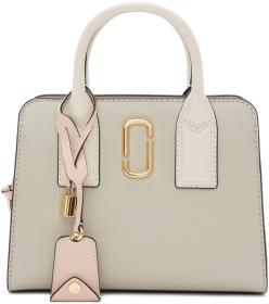 Marc Jacobs Beige & Off-White Little Big Shot Bag