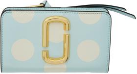 Marc Jacobs Blue Polka Dot Compact Wallet