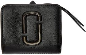 Marc Jacobs Black Mini Compact Wallet