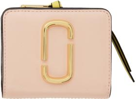 Marc Jacobs Pink Mini Snapshot Compact Wallet