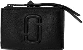 Marc Jacobs Black Snapshot Top Zip Multi Card Hold