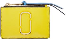 Marc Jacobs Yellow Snapshot Top Zip Multi Card Hol
