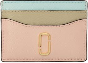 Marc Jacobs Pink Snapshot Card Holder