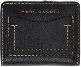 Marc Jacobs Black & Red 'The Grind' Compact Wallet