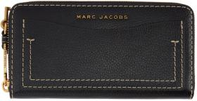 Marc Jacobs Black 'The Grind' Continental Wallet