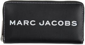 Marc Jacobs Black Standard Tag Continental Wallet