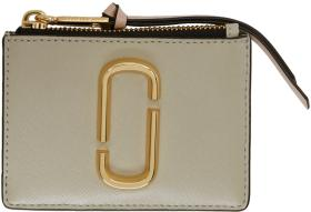 Marc Jacobs Grey Snapshot Top Zip Multi Card Holde