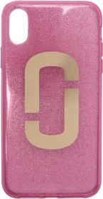 Marc Jacobs Pink Jelly Glitter Snapshot iPhone XR