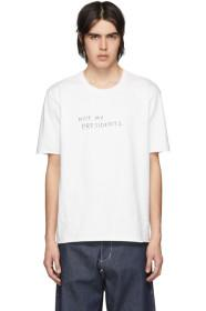 Camiel Fortgens White Protest T-Shirt