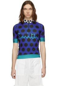 Paul Smith Blue Polka Dot Cycling T-Shirt