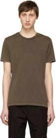 Bottega Veneta Grey Cotton T-Shirt