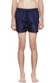 Paul Smith SSENSE Exclusive Navy Saturn Swim Short