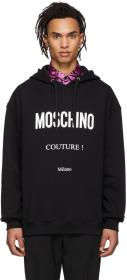 Moschino Black 'Couture' Hoodie