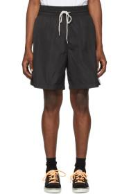 Diesel Black Boxie Track Shorts