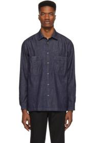 Paul Smith Indigo Denim Explorer Tailored Shirt