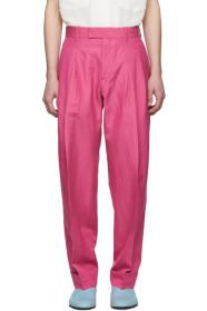 Paul Smith Pink Gents Formal Trousers