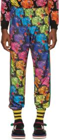 Gucci Multicolor All-Over Panther Lounge Pants