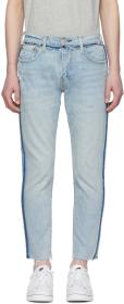 Levi's Blue 512 Slim Wrong Side Out Jeans