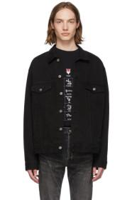 Balenciaga Black Denim Speed Jacket