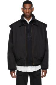Balenciaga Black Twin-Set Jacket