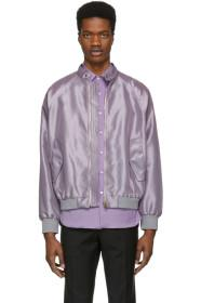 Paul Smith Purple Gents Bomber Jacket