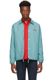 Levi's Blue Thermore Coach Jacket