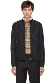 Paul Smith Navy Biker Jacket