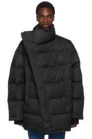 Balenciaga Black Profile Down Parka