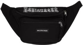 Balenciaga Black Tattoo Belt Pack
