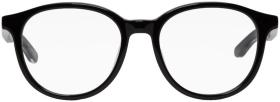 Balenciaga Black Shiny Round Glasses