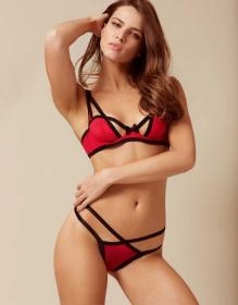 Joan Thong Red and Black