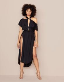 Haven Maxi Kaftan Black