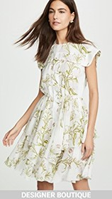 Giambattista Valli Floral Mini Dress