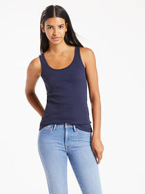 Levi's Classic Ribbed Tank Top