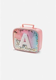 Justice Ombre Initial Shaky Lunch Tote